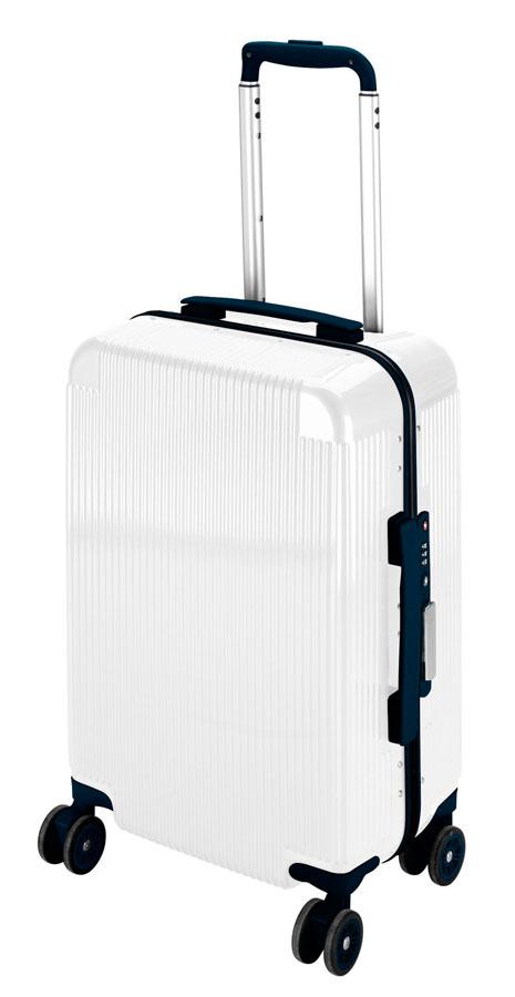 キャプテンスタッグシック トラベルスーツケース(TSAロック付きコンパクトタイプ)(ホワイト) UV-47全世界の空港で使えます!もちろんTSAロックのアメリカも!