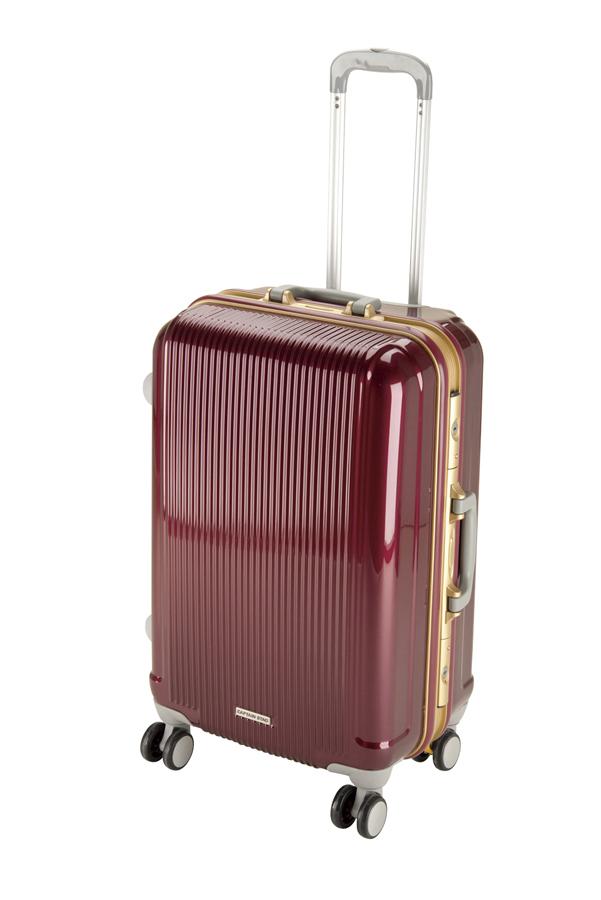 キャプテンスタッググレル トラベルスーツケース(TSAロック付きHFタイプ)(M)(ワインレッド) UV-5全世界の空港で使えます!もちろんTSAロックのアメリカも!