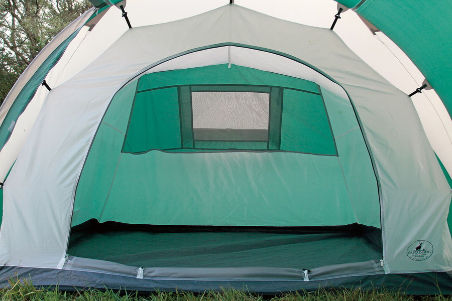 2 + 2 person 4 people for 3 room tent. Living cum luggage compartment determines two inner tent in Central double layout. Inner tent hanging easy removal & MURANOKAJIYA | Rakuten Global Market: Captain stag CS 3 loom dome ...