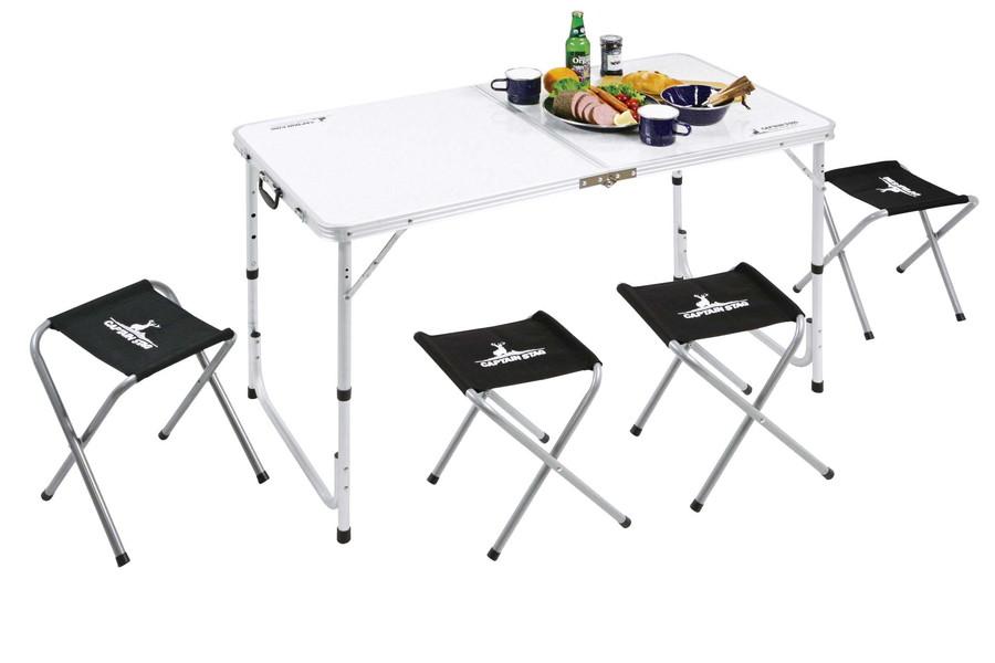 キャプテンスタッグラフォーレ テーブル・チェアセット(4人用)UC-4