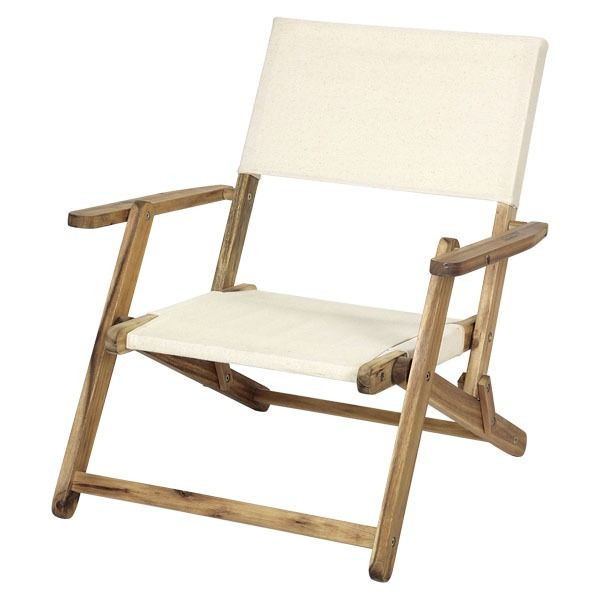 Captain stag CS classics FD middirectorchair (white) UP-1017