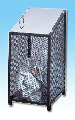 【smtb-TK】【頑張って送料無料!】ダストBOX-S ブラック455mm幅 容量170リットル