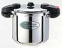 ワンダーシェフ圧力鍋 8.0リットルプロユースミドルサイズ 5年保証付