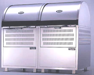 【smtb-TK】【頑張って送料無料!】ステンレス製ゴミステーション1200mm幅