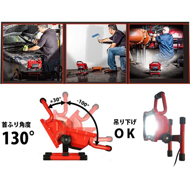 パワービルドLED投光器 EKS0197アメリカ パワービルド社のLED投光器。【頑張って送料無料!】