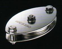 【smtb-TK】【頑張って送料無料!】固定ブロックヨコ型1車90mm (ベアリング入)K90-2