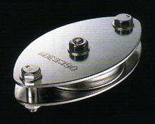 【smtb-TK】【頑張って送料無料!】固定ブロックヨコ型1車90mm (ベアリング入)K90-10