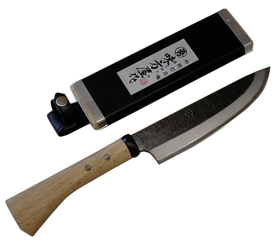 【smtb-TK】【頑張って送料無料!】日野浦刃物工房 味方屋作 剣鉈150mm 片刃