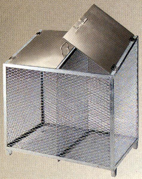 【smtb-TK】【頑張って送料無料!】ダストBOX-S シルバー大型商品に付き商品代引きはご利用できません。