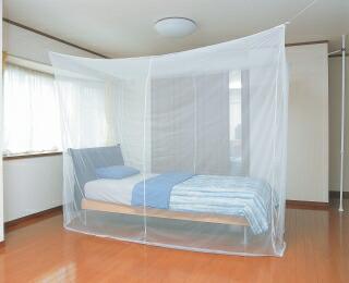 【RM-80】かいてき 軽涼蚊帳(かや) 8畳用 幅350×奥行250×高さ200cm【頑張って送料無料!】