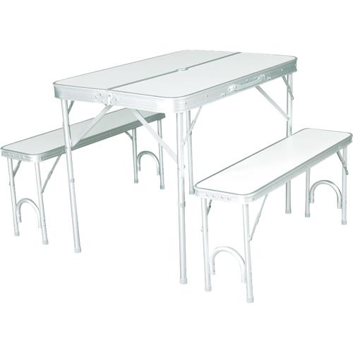 BUNDOK テーブル&ベンチセットBD-144