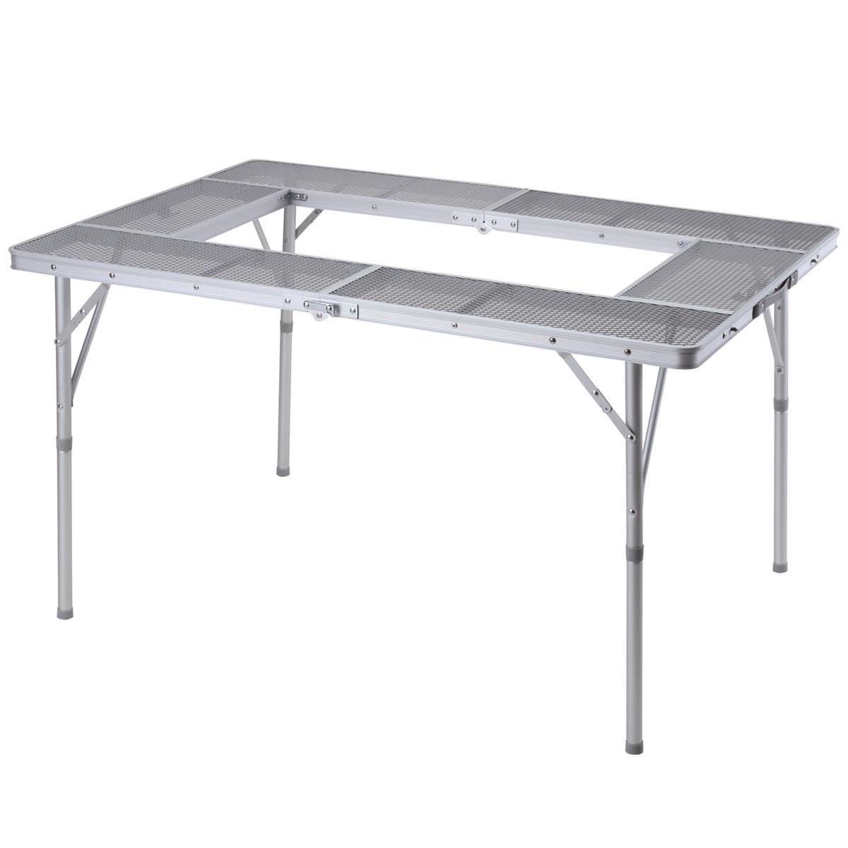 メッシュグリルテーブル 120 BD-237幅1220×奥行き825×高さ670mm