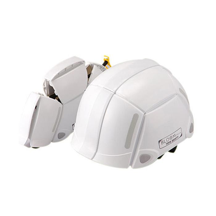 東洋安全預防為折疊頭盔綻放綻放 100 號拉只是徹底改變和福利的勞工部保護頭盔帽子標準飛行和下降國家認證