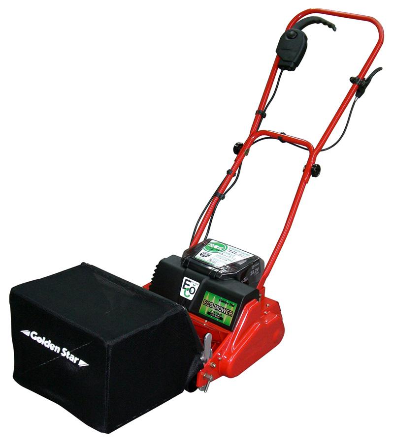 キンボシ 充電式 自走芝刈り機 エコモ3000 ECO-3000【頑張って送料無料!】