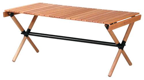 【POL-T90】Hang out ポールローテーブル90cm天然木の高級感あふれるテーブル家の中でも外でも使用可能