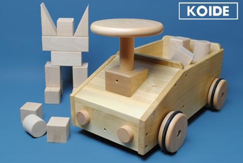 コイデ東京 日本製 知育玩具 K28 乗用積木安全性と知育性が高い本物志向の木のおもちゃ百貨店で販売されているおもちゃです