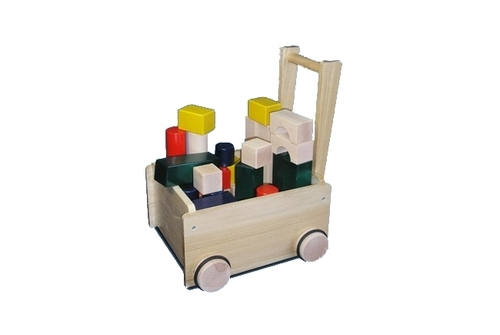 コイデ東京 日本製 知育玩具 K34 押車積木安全性と知育性が高い本物志向の木のおもちゃ百貨店で販売されているおもちゃです
