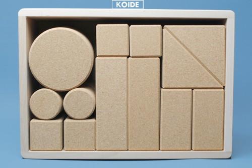コイデ東京 日本製 知育玩具 K39 コルク積木安全性と知育性が高い本物志向の木のおもちゃ百貨店で販売されているおもちゃです