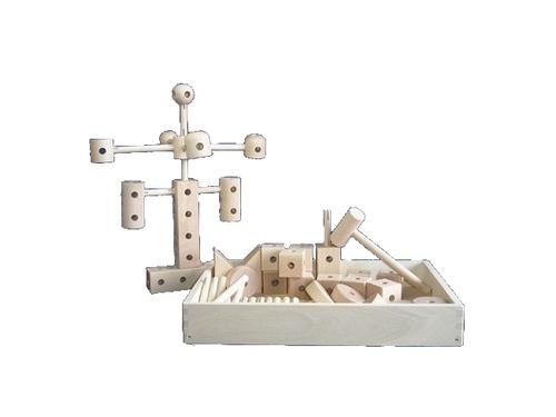 コイデ東京 日本製 知育玩具 K42 トンカチ安全性と知育性が高い本物志向の木のおもちゃ百貨店で販売されているおもちゃです