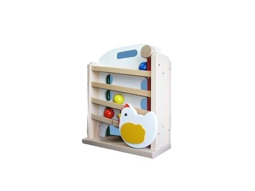 コイデ東京 日本製 知育玩具 M08 キンコンボール安全性と知育性が高い本物志向の木のおもちゃ百貨店で販売されているおもちゃです