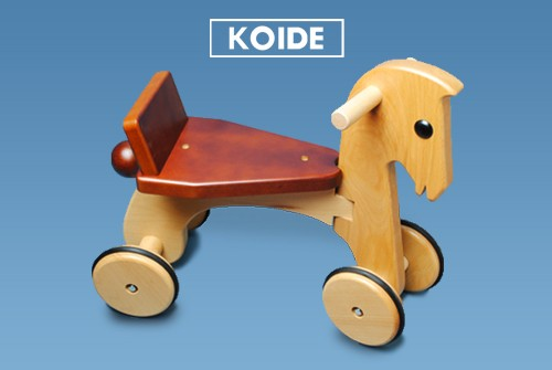 コイデ東京 日本製 知育玩具 M29 ポニー安全性と知育性が高い本物志向の木のおもちゃ百貨店で販売されているおもちゃです