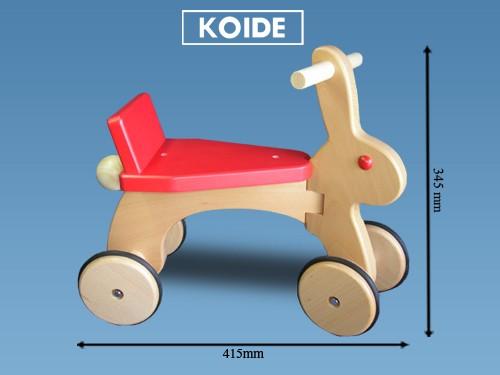 コイデ東京 日本製 知育玩具 S23 ラビット安全性と知育性が高い本物志向の木のおもちゃ百貨店で販売されているおもちゃです
