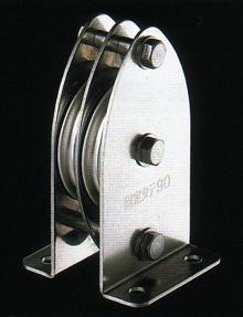 固定ブロック タテ型2車90mm(ジュラコンシーブ) K90-7