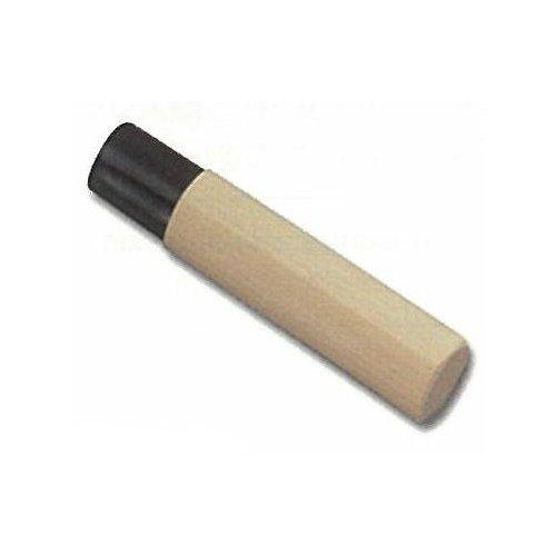 和包丁用木柄です 【ネコポス可能】藤次郎 出刃 240mm用 黒樹脂桂 木柄 M-117