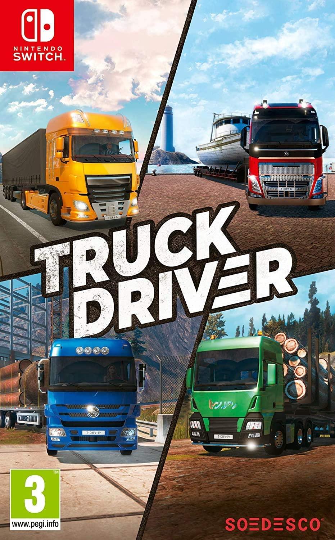 激安通販専門店 ドライブシュミレーターゲーム Truck ※アウトレット品 Driver トラックドライバー Nintendo switch ニンテンドー 日本語対応 スイッチ 輸入ver. ソフト