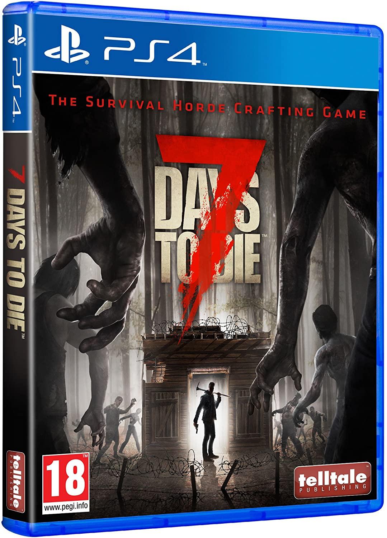 期間限定 PS4 7 Days to Die セブン デイズ トゥ プレイステーション4 プレステ 人気の定番 輸入ver ダイ ソフト