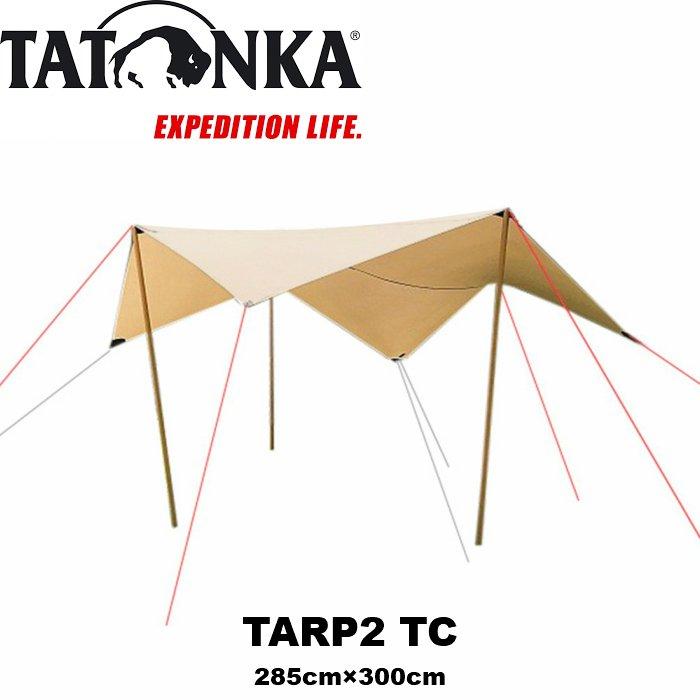 TATONKA TARP 2 TC タトンカ ヘキサタープ ポリコットン [並行輸入品]