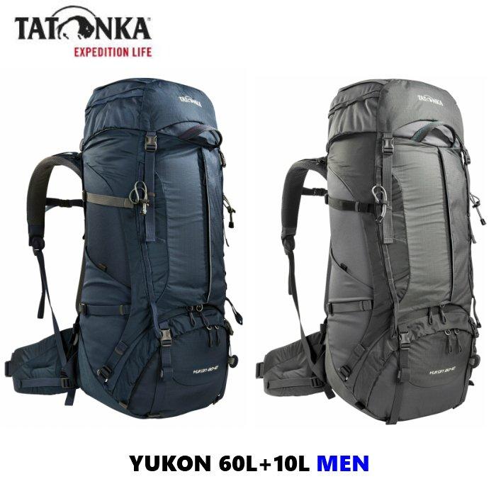 至上 TATONKA タトンカ YUKON 60+10 大容量 トレッキング [ギフト/プレゼント/ご褒美] 登山 国内在庫あり バックパック メンズ リュック ザック 直輸入品