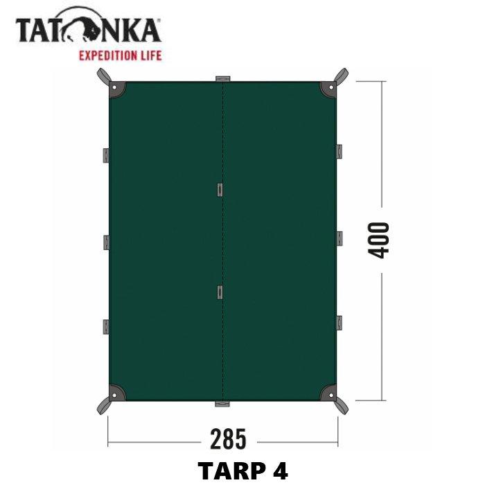 TATONKA タトンカ TARP4 チープ タープ 防水 アウトドア 国内在庫 遮光 キャンプ 直輸入品 美品