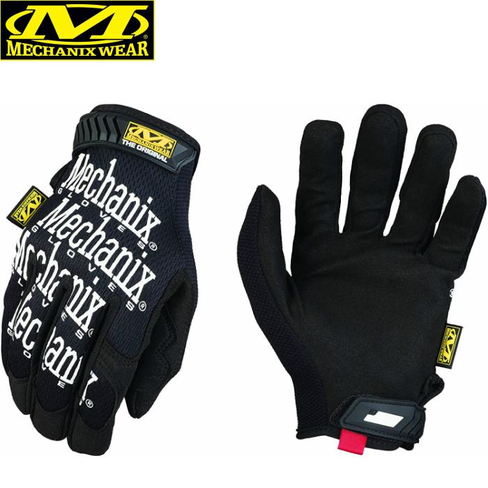 メカニクス グローブ ブラック 限定価格セール Mechanix Wear Original Glove 軍手 BLACK 手袋 新作 人気 整備 サバイバル メカニクスウェア オリジナルグローブ バイク 作業用