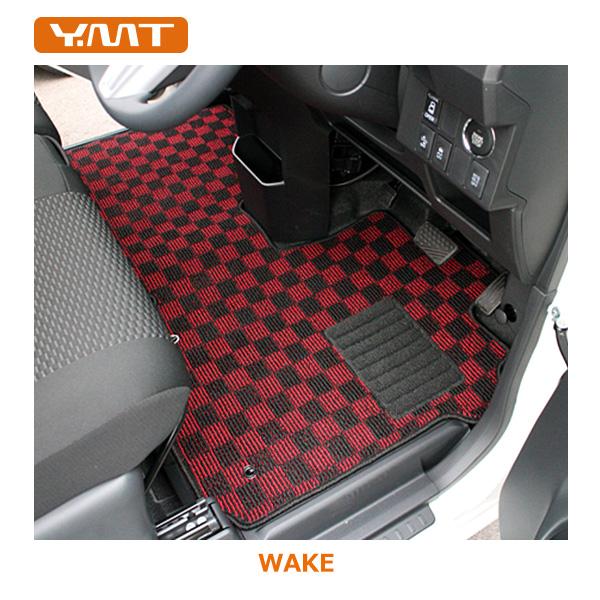 【送料無料】YMT ウェイクフロアマット+トランクマット LA700S