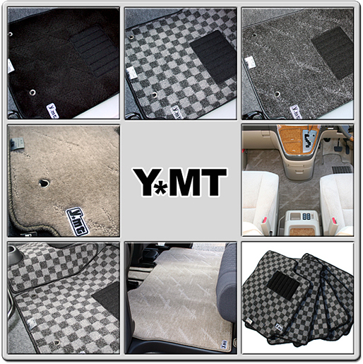 【送料無料】YMTフロアマット ワゴンR コラムシフト フロアマット+ラゲッジマット MH21S
