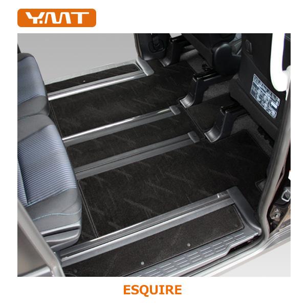 【送料無料】YMT トヨタ エスクァイアフロアマット+ステップマット