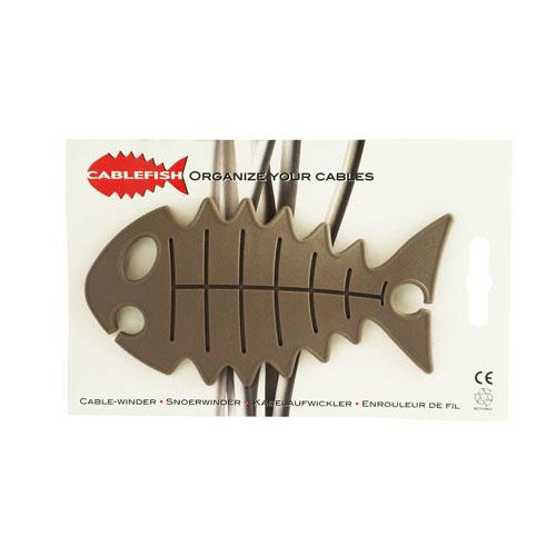 正規品 ケーブル コード類をぐるぐる巻き付けすっきり整理 特価 魚の形のコードリール ケーブルフィッシュ CABLE FISH ブラウン 収納 限定価格セール まとめる オランダ製 ペンダントライト コードアジャスター プチギフト コード調整 おしゃれ かわいい 断線防止 コードリール 照明