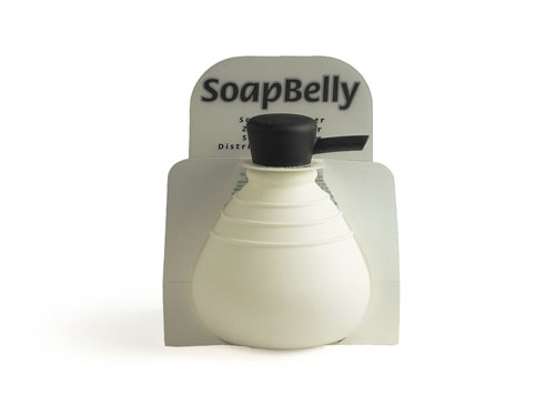 SoapBelly / do Soap Dispenser and soap dispensers (791177-white/orange) liquid soap refill replacement bottle, Netherlands-