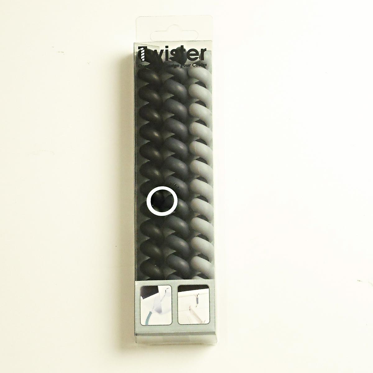 Cable Twister ツイスター MONOセット ケーブル 収納 まとめる 断線防止 おしゃれ かわいい コードリール コード調整 パソコン マウス オランダ製 あす楽