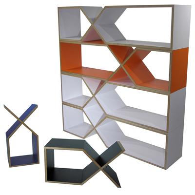 abode アボード 家具 DXDX ブラック 津留 敬文 サイドテーブル・ブックシェルフ・収納・組立収納デザイナーズ家具