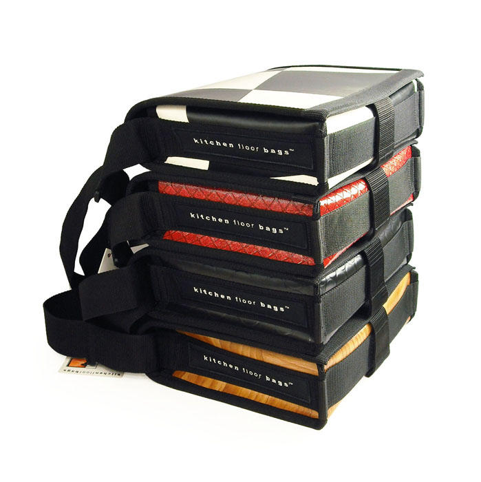 kitchenfloorbags/ kitchen floor bag (7MK02M-INDUST.DOTS) shoulder bag design bag, novel idea