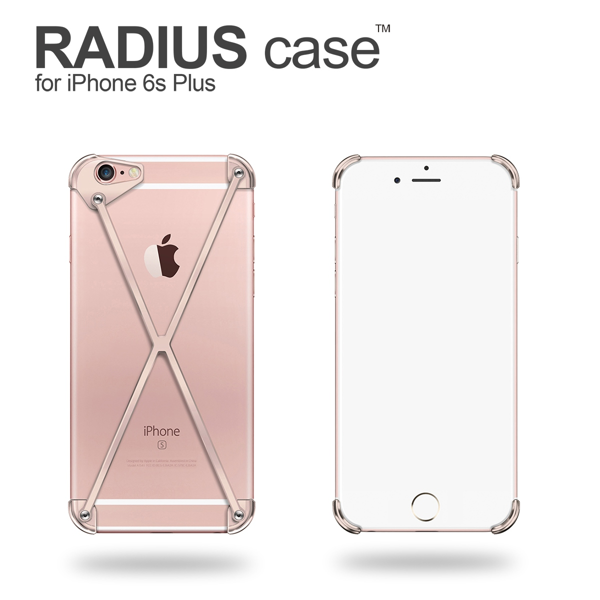 RADIUS 6s Plus Rose Gold X By Mod 3 For IPhone Limited Edition