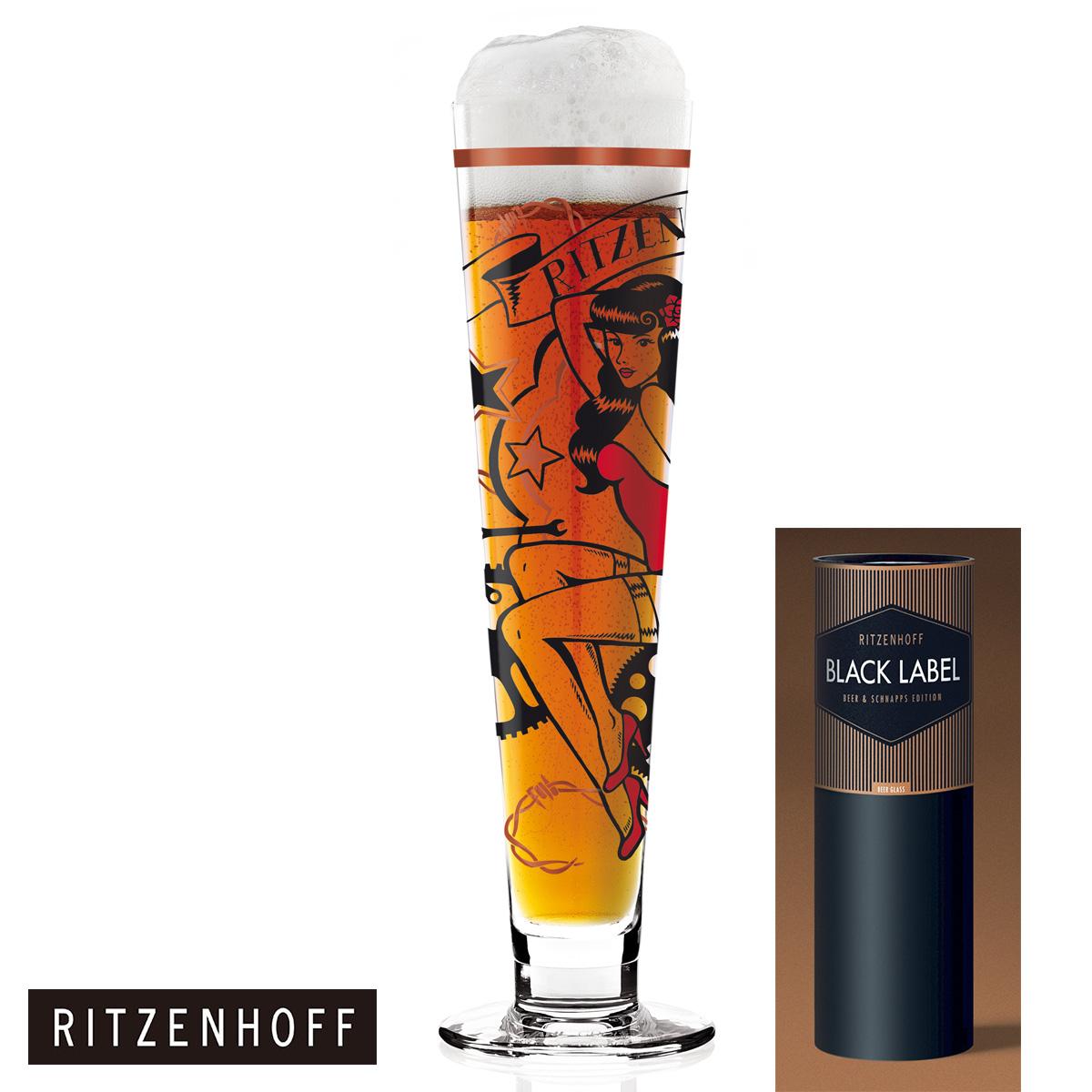 RITZENHOFF リッツェンホフ Beer Crystal Collection ビアグラス(Markus Binz-81010217) ビールグラス ビア グラス ビール プレゼント・贈り物・ギフト・