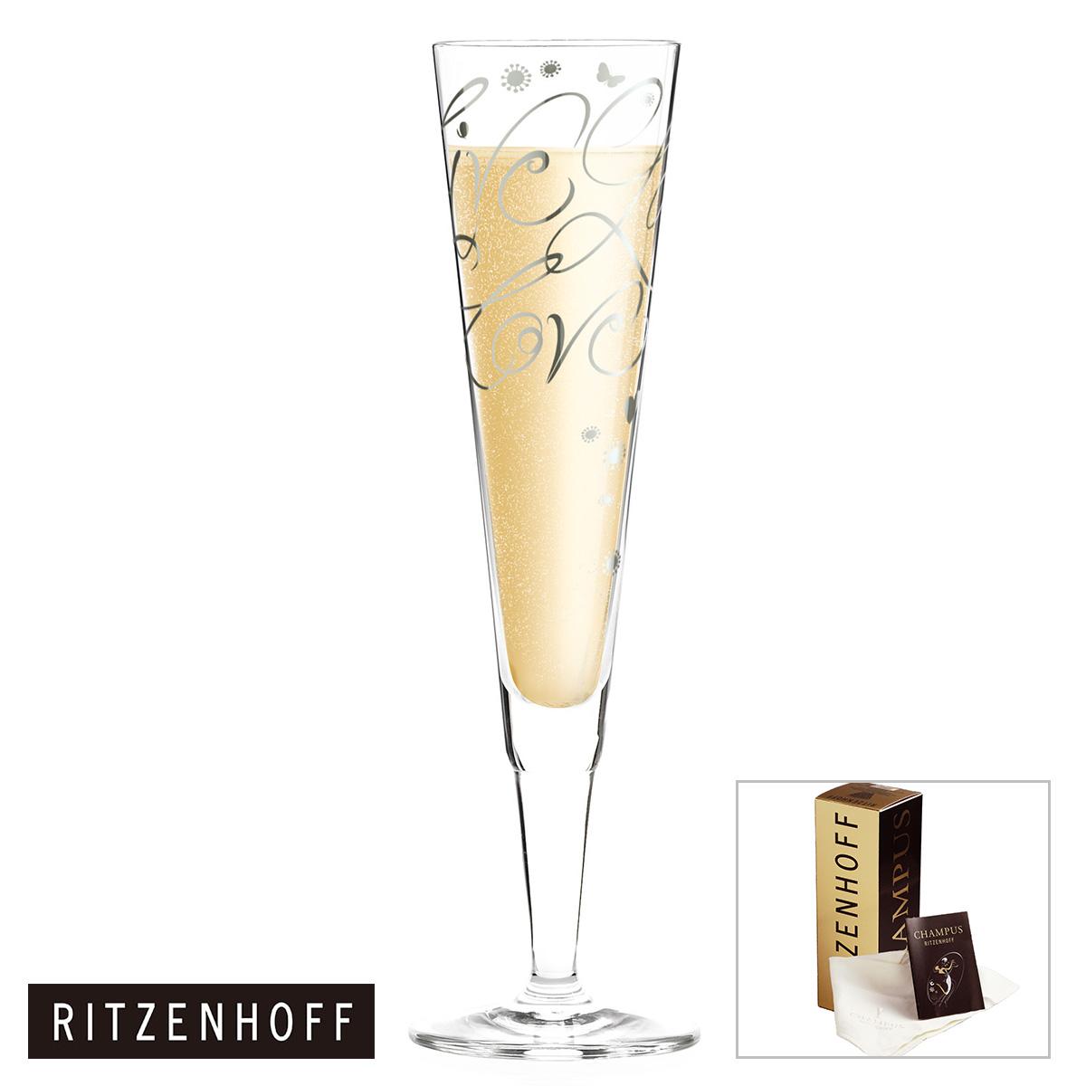 RITZENHOFF CHAMPUS COLLECTION Beautifulness Pass Collection Annett Wurm 81070198 Champagne Glass