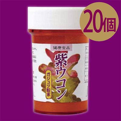【送料無料】沖縄産紫ウコン100%! 美容と健康に! 紫ウコン粉末(ガジュツ)約100g×20個