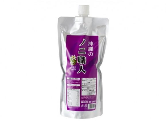 沖縄のノニ職人 果汁100% 500ml(パウチ)10パック