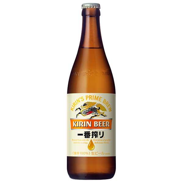 【大感謝祭で使えるクーポン配布中!!】キリン 一番搾り生ビール 中瓶 500ml x 20本[ケース販売][キリン/ビール/国産/ALC5%]