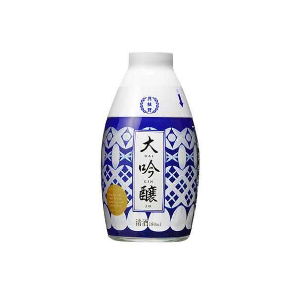 日本酒 japanese sake 御中元 御歳暮 内祝い 月桂冠 おちょこ付 大吟醸 [瓶] 180ml x 60本[2ケース販売] [月桂冠 日本 清酒 日本酒 15度 中口 やや淡麗]