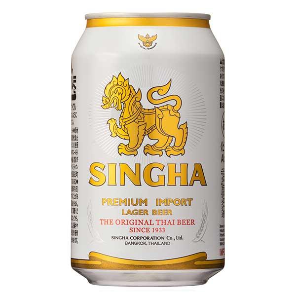 【2ケース販売】シンハービール [缶] 330ml x 48本[2ケース販売][モルソンクアーズ/タイ/ビール/ALC5%]【母の日】